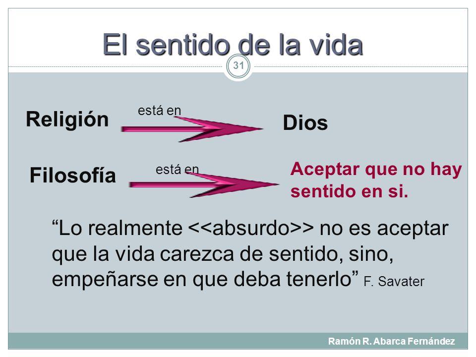 El sentido de la vida Religión Dios Filosofía