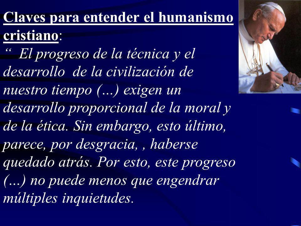 Claves para entender el humanismo cristiano: