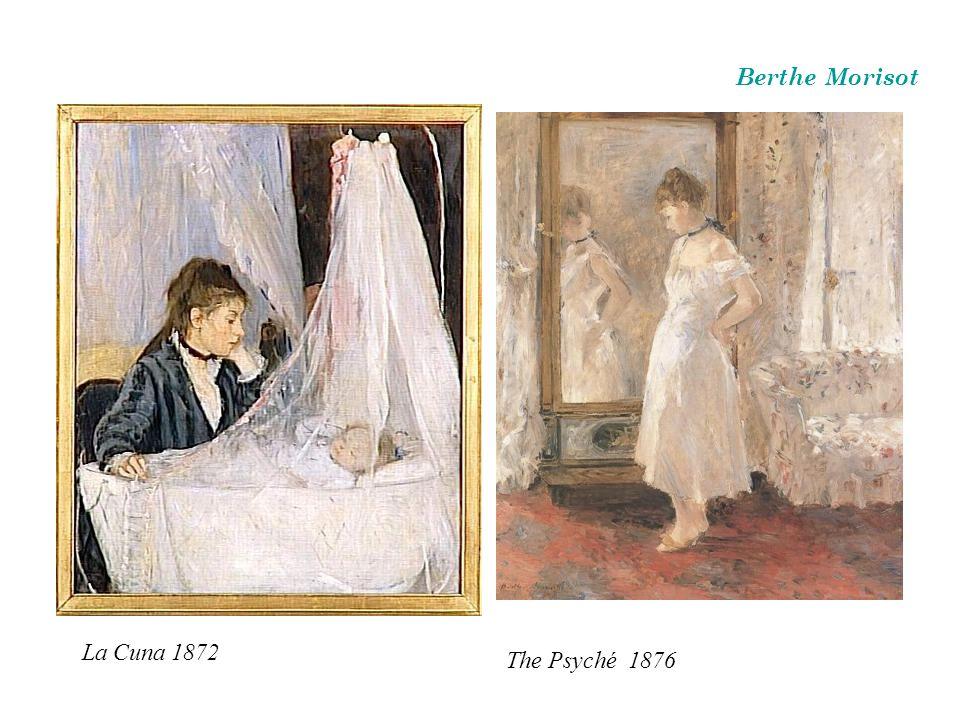 Berthe Morisot La Cuna 1872 The Psyché 1876