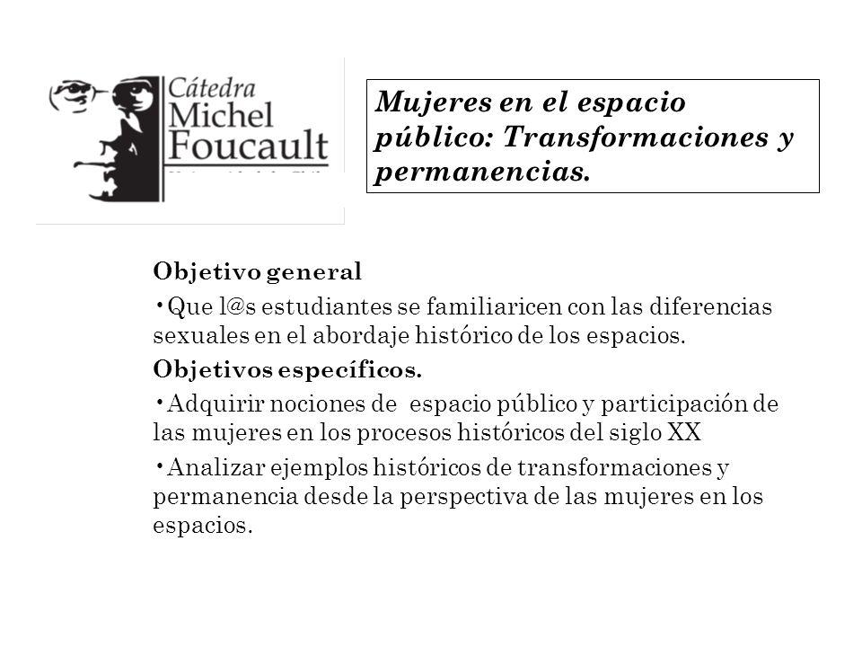 Mujeres en el espacio público: Transformaciones y permanencias.