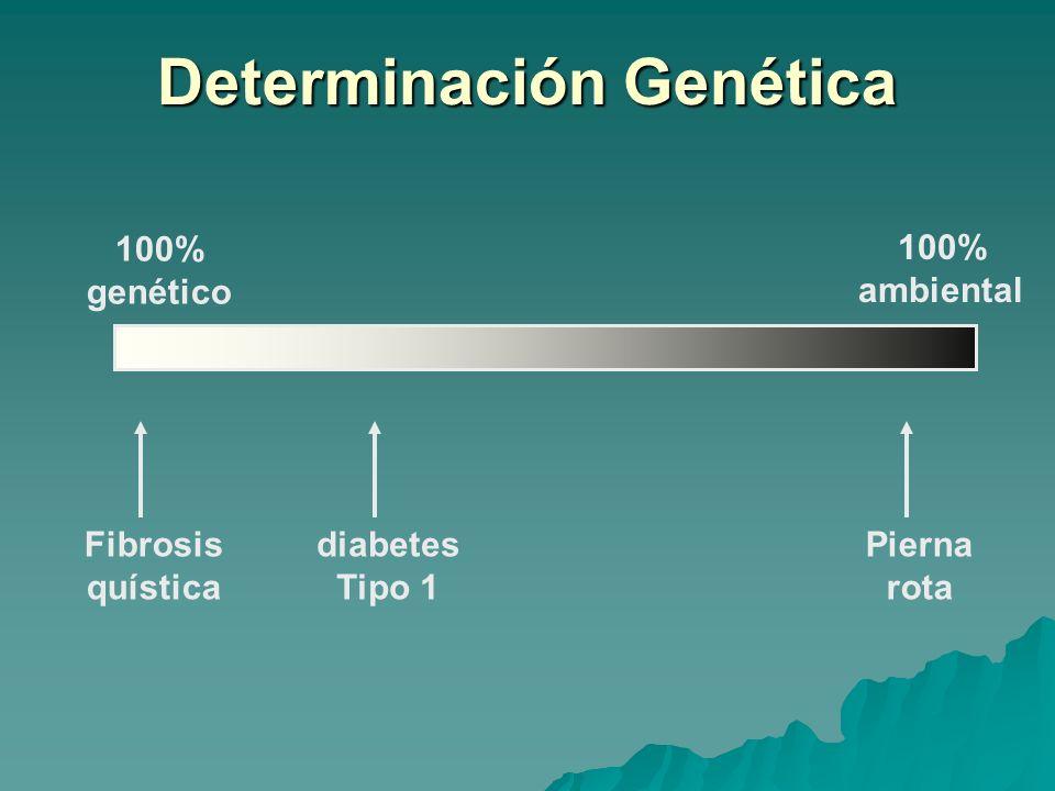 Determinación Genética