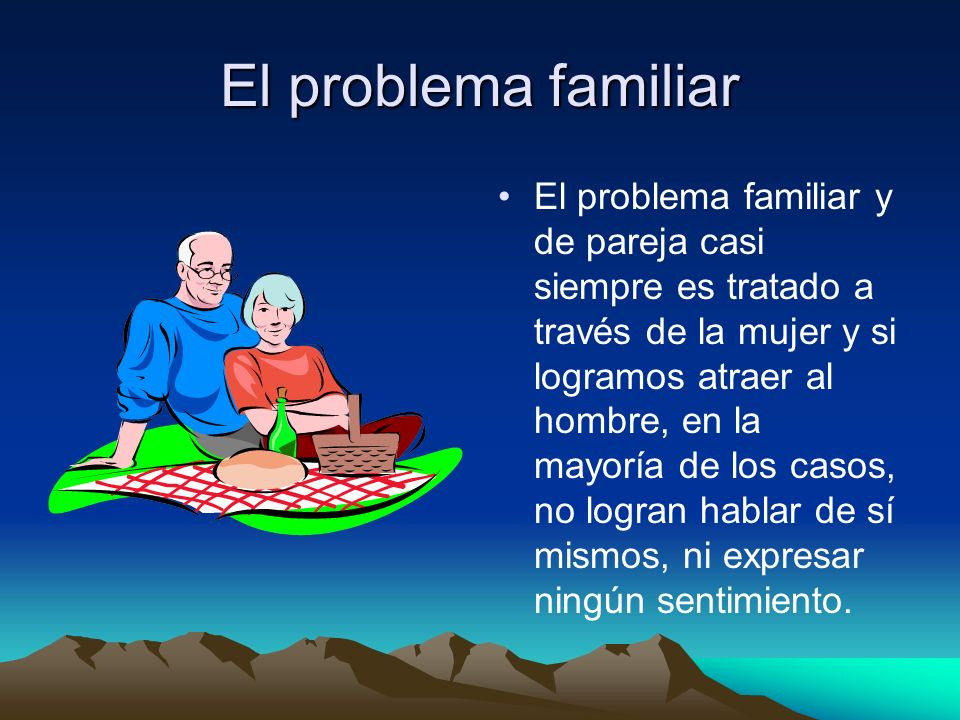 El problema familiar
