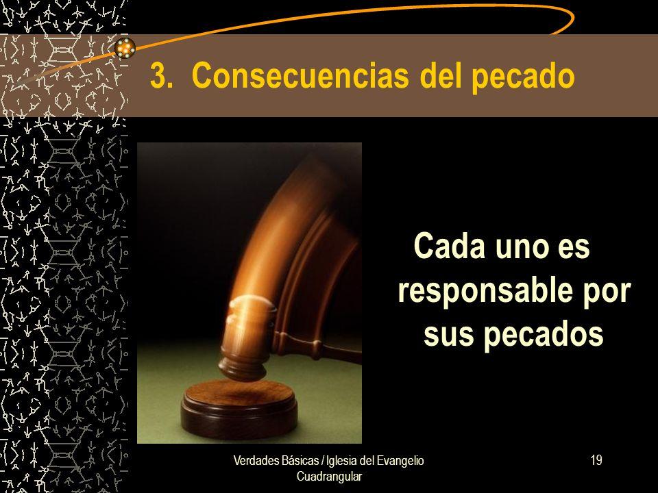 3. Consecuencias del pecado