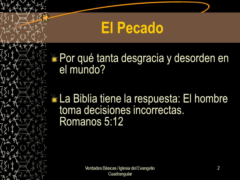 Verdades Básicas / Iglesia del Evangelio Cuadrangular