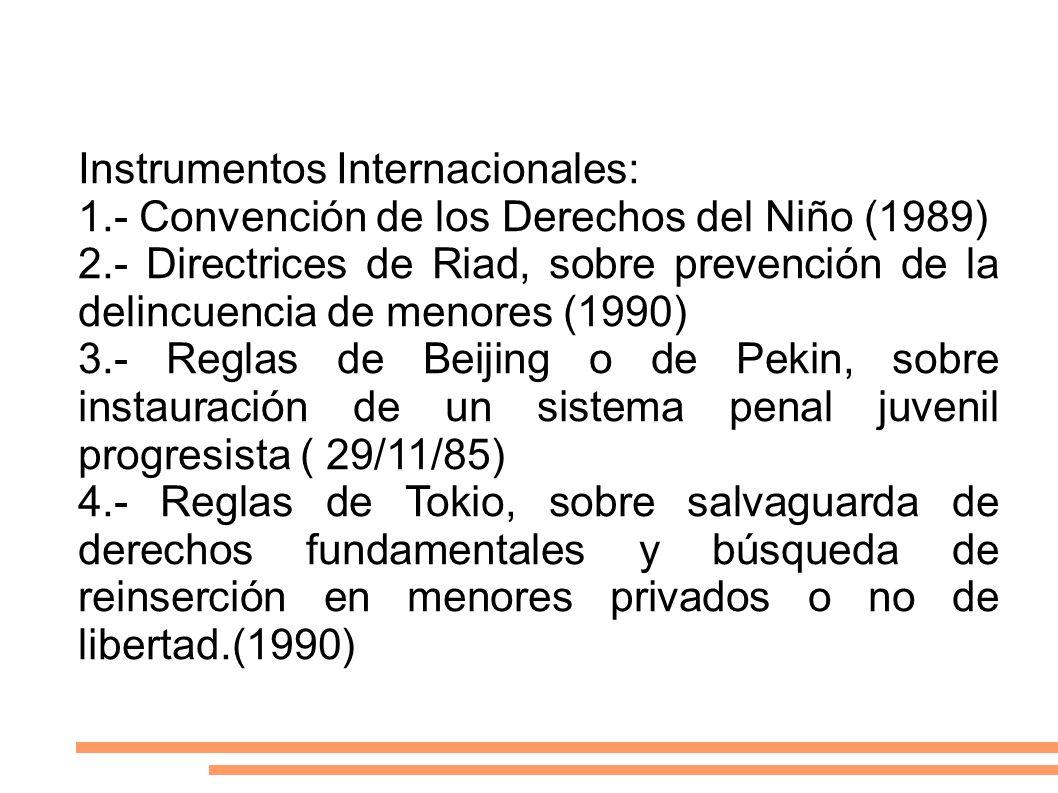 Instrumentos Internacionales: