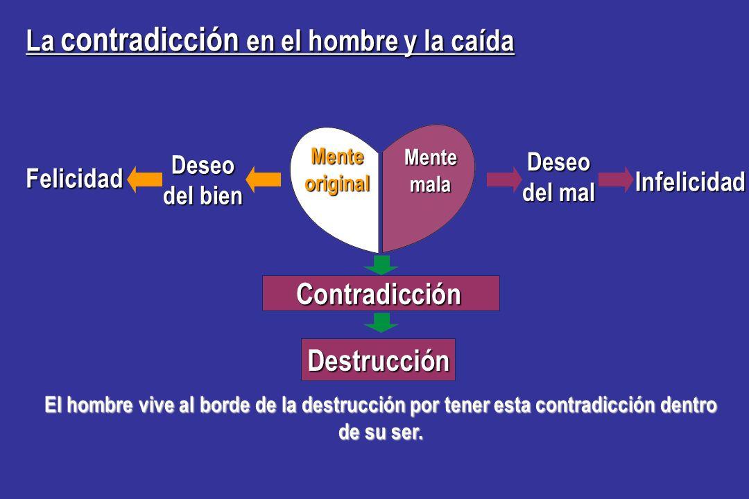 Contradicción Destrucción