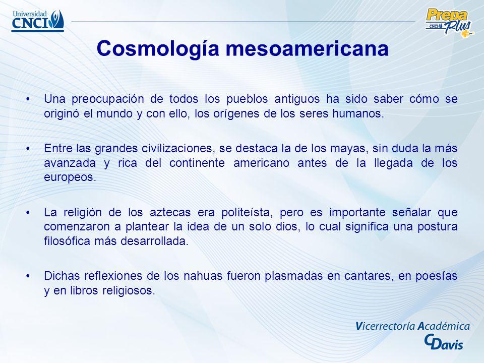 Cosmología mesoamericana