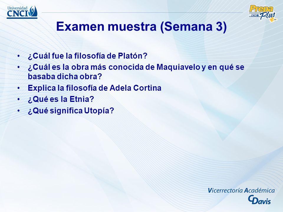 Examen muestra (Semana 3)
