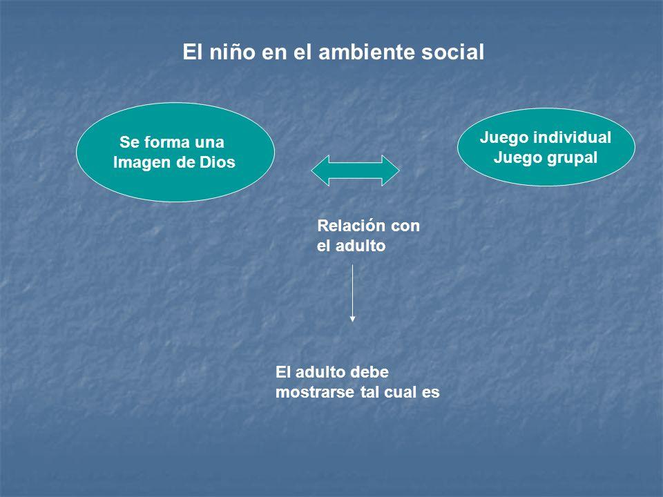 El niño en el ambiente social