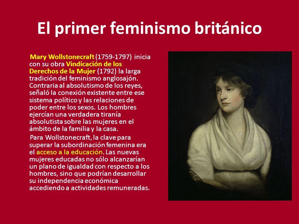 El primer feminismo británico