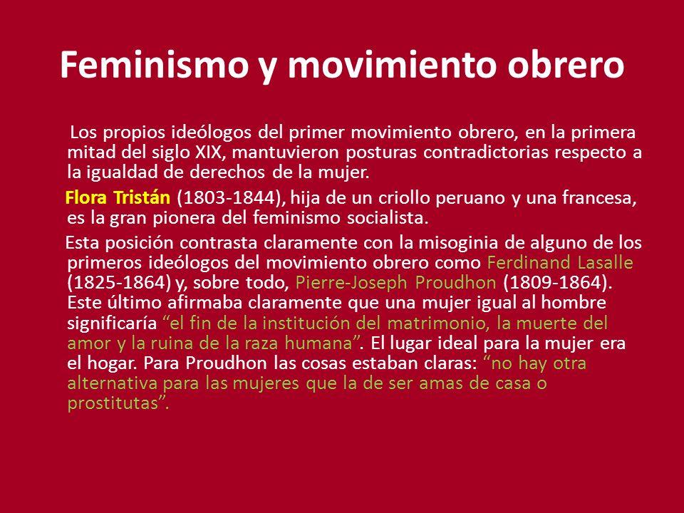 Feminismo y movimiento obrero
