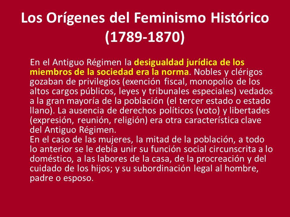 Los Orígenes del Feminismo Histórico (1789-1870)