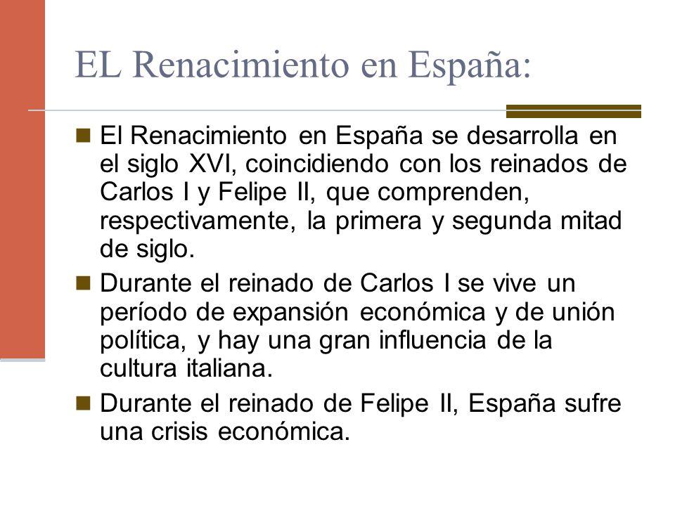 EL Renacimiento en España: