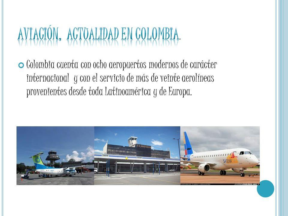 AVIACIÓN, ACTUALIDAD EN COLOMBIA.