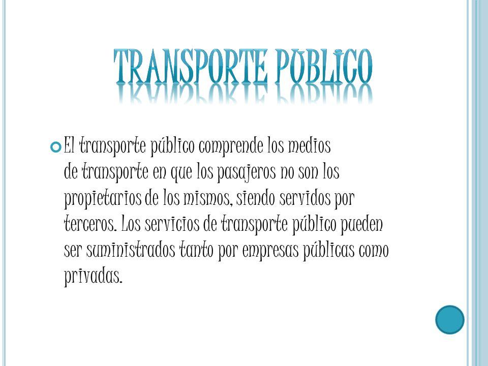 Transporte publico Transporte publico