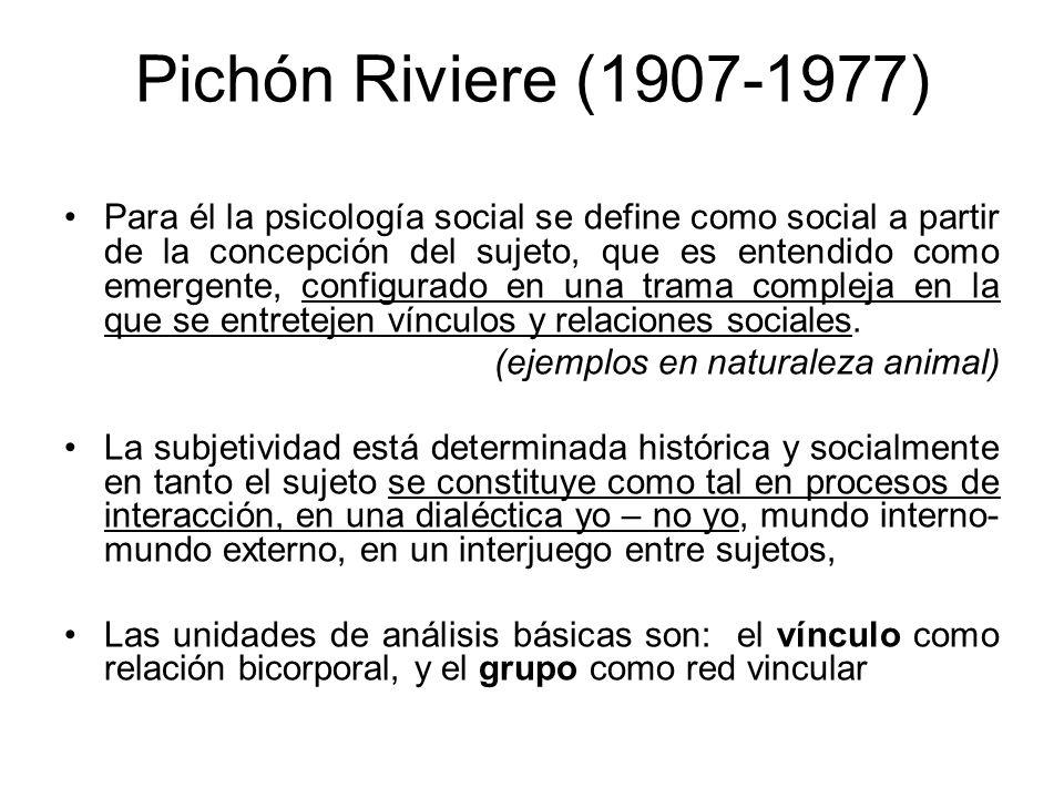 Pichón Riviere (1907-1977)