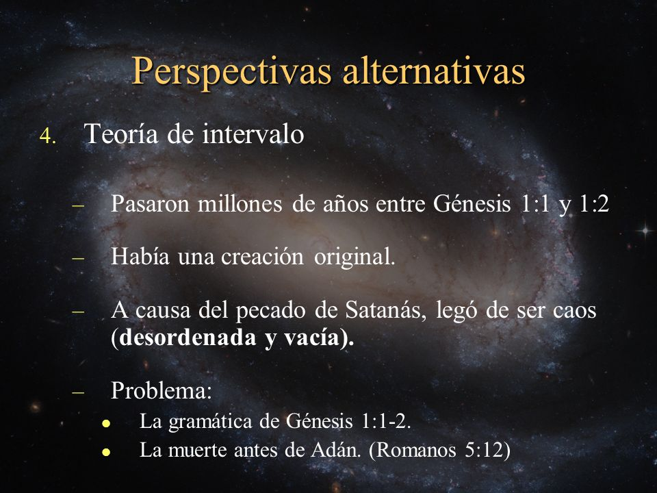 Perspectivas alternativas