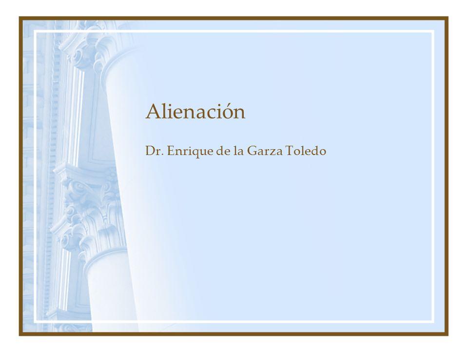 Dr. Enrique de la Garza Toledo