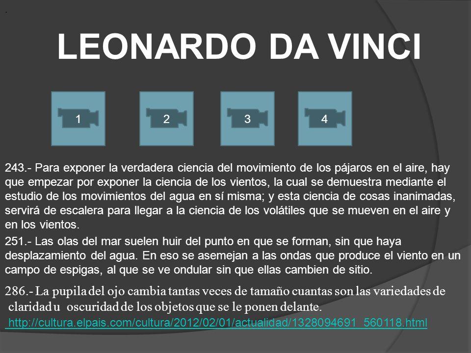 . LEONARDO DA VINCI. 1. 2. 3. 4.