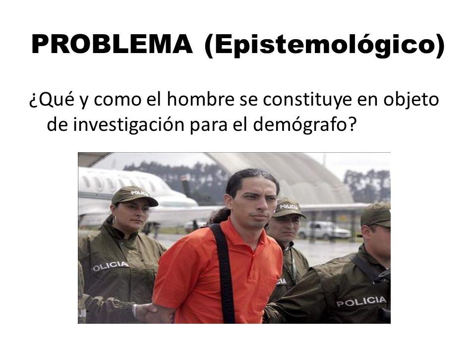 PROBLEMA (Epistemológico)