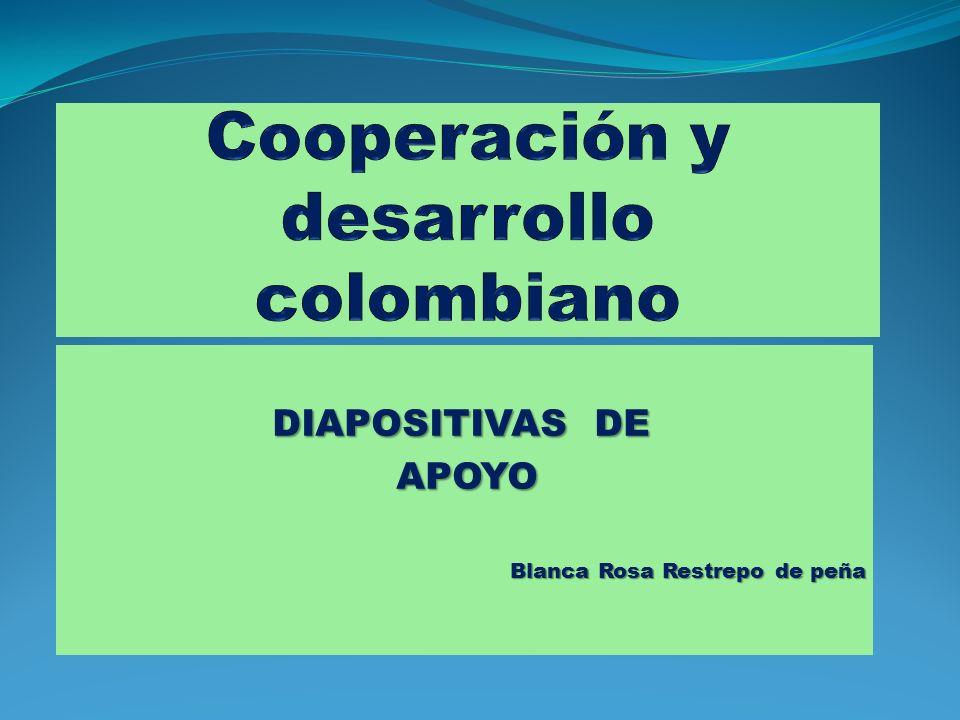 Cooperación y desarrollo colombiano