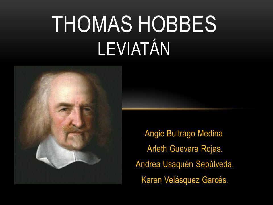 Thomas Hobbes leviatán