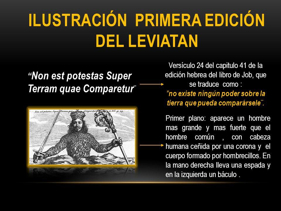 ILUSTRACIÓN primera edición del LEVIATAN