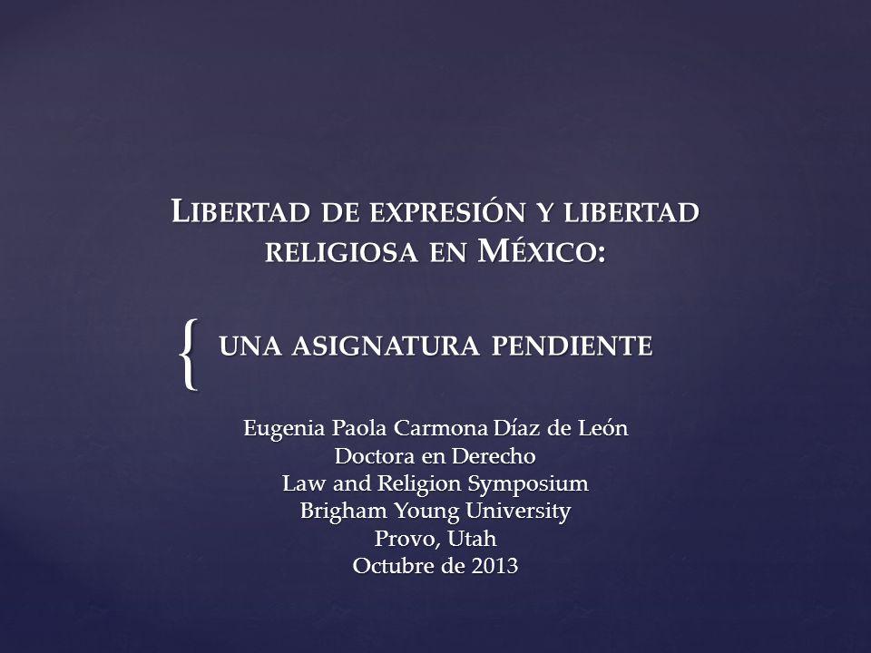 Eugenia Paola Carmona Díaz de León Doctora en Derecho