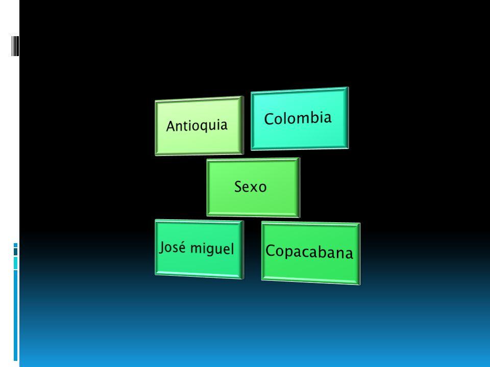 Colombia José miguel Copacabana Sexo Antioquia