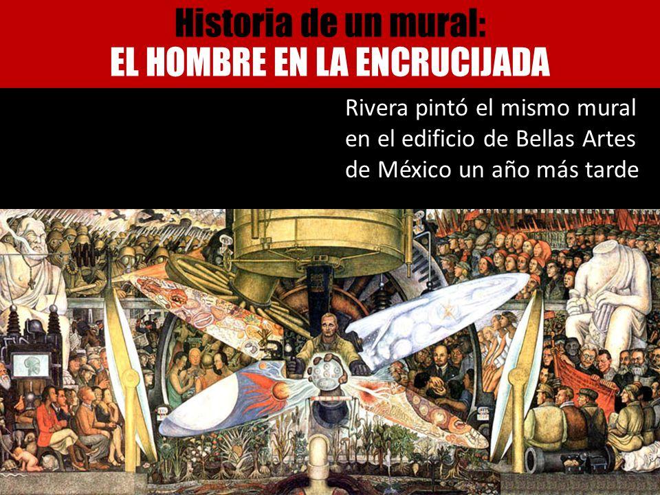 Historia de un mural: EL HOMBRE EN LA ENCRUCIJADA