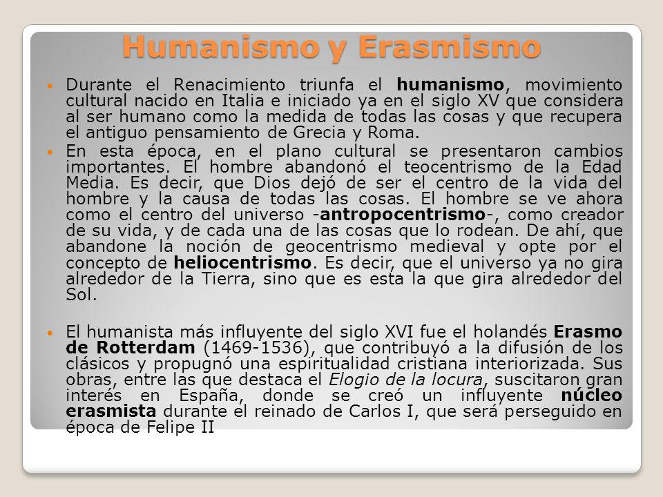 Humanismo y Erasmismo