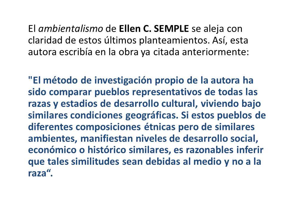El ambientalismo de Ellen C