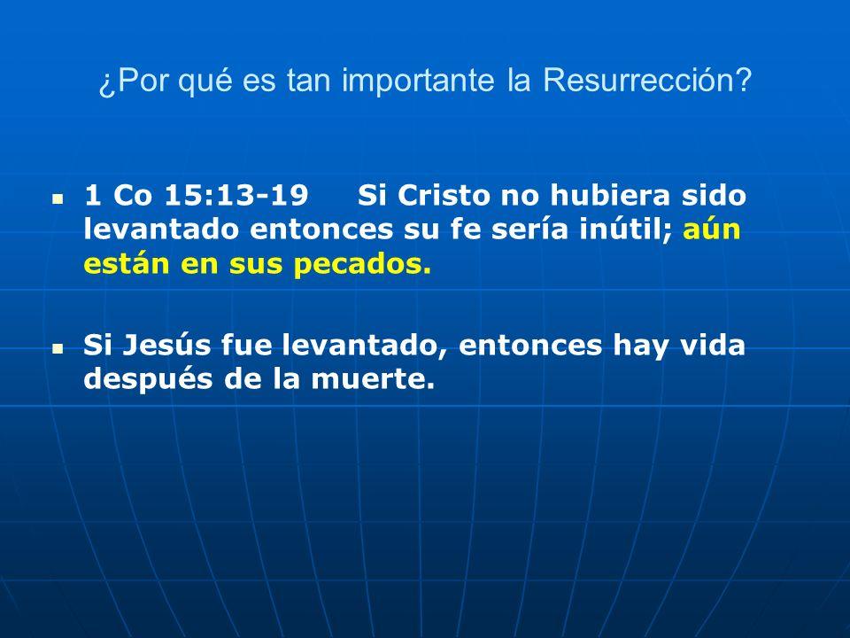 ¿Por qué es tan importante la Resurrección