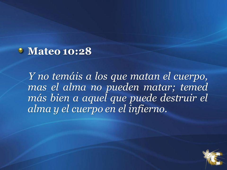 Mateo 10:28