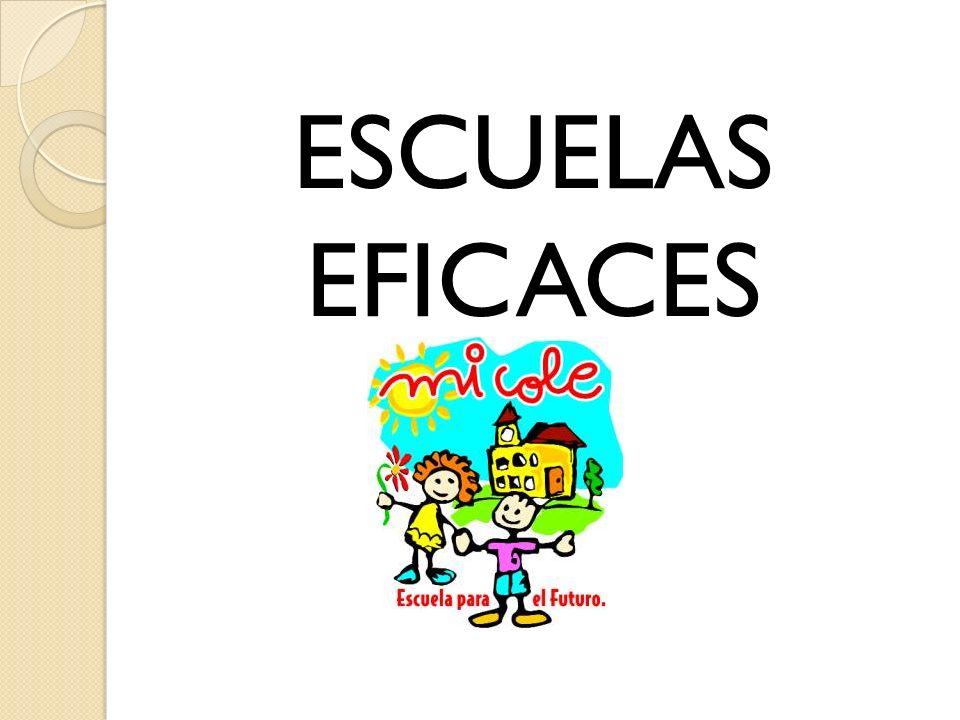 ESCUELAS EFICACES