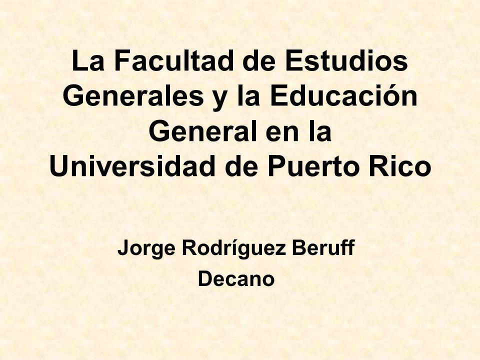 Jorge Rodríguez Beruff Decano