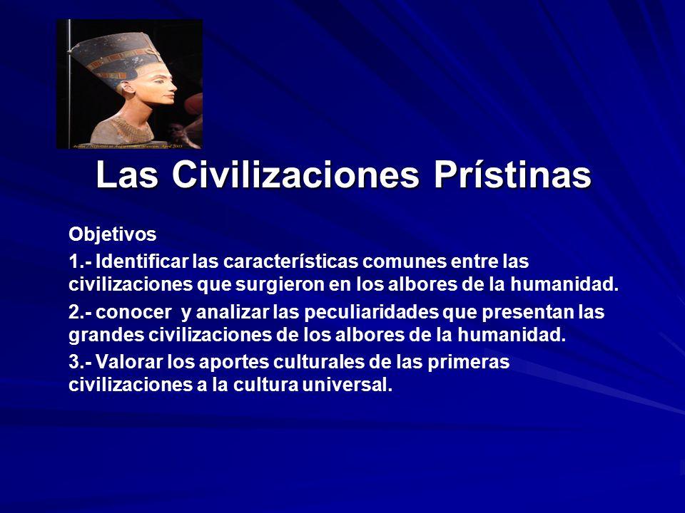 Las Civilizaciones Prístinas
