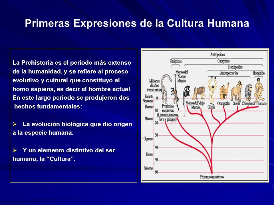Primeras Expresiones de la Cultura Humana