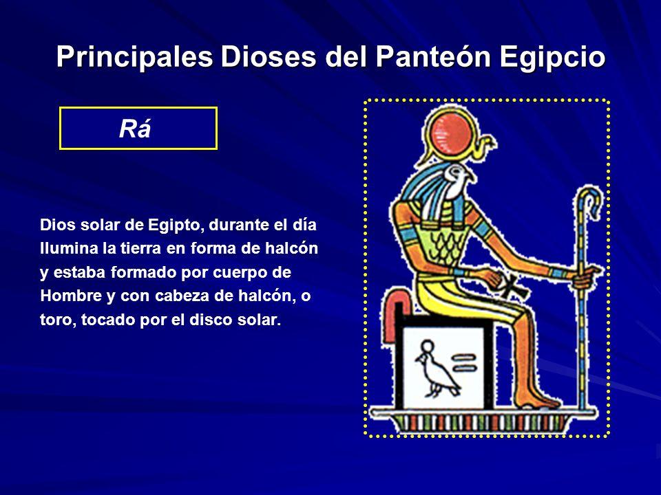 Principales Dioses del Panteón Egipcio