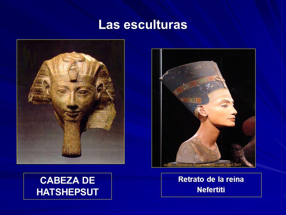 Retrato de la reina Nefertiti
