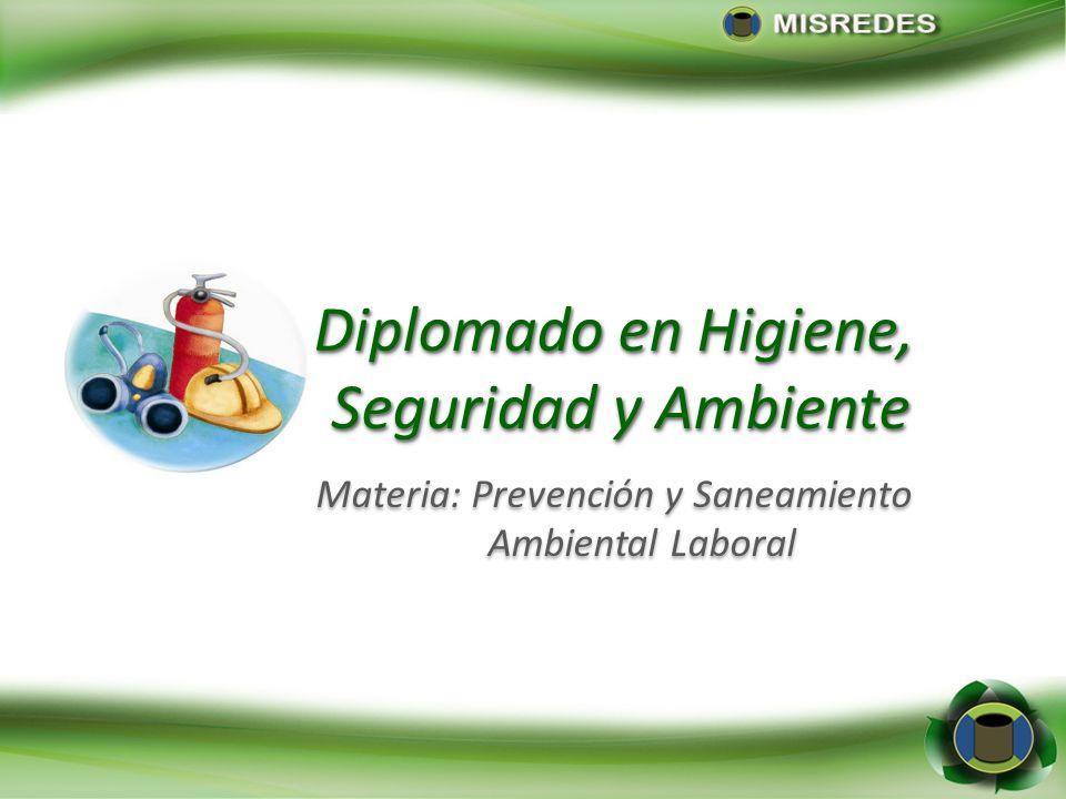 Materia: Prevención y Saneamiento