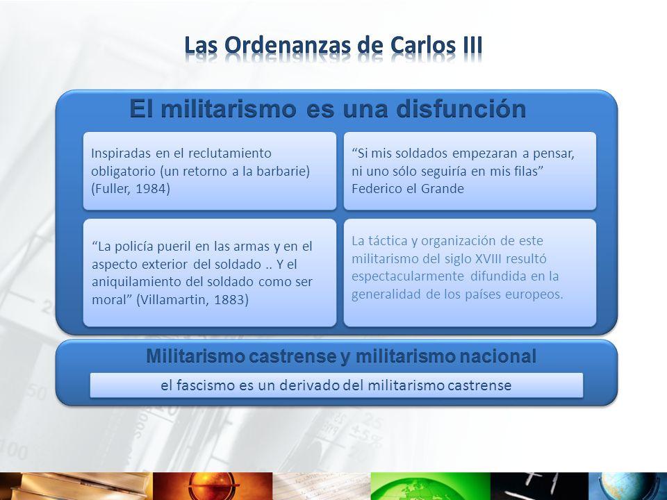 Las Ordenanzas de Carlos III