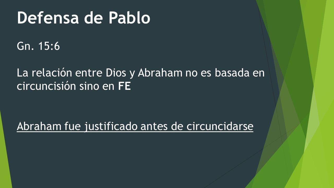Defensa de Pablo Gn.