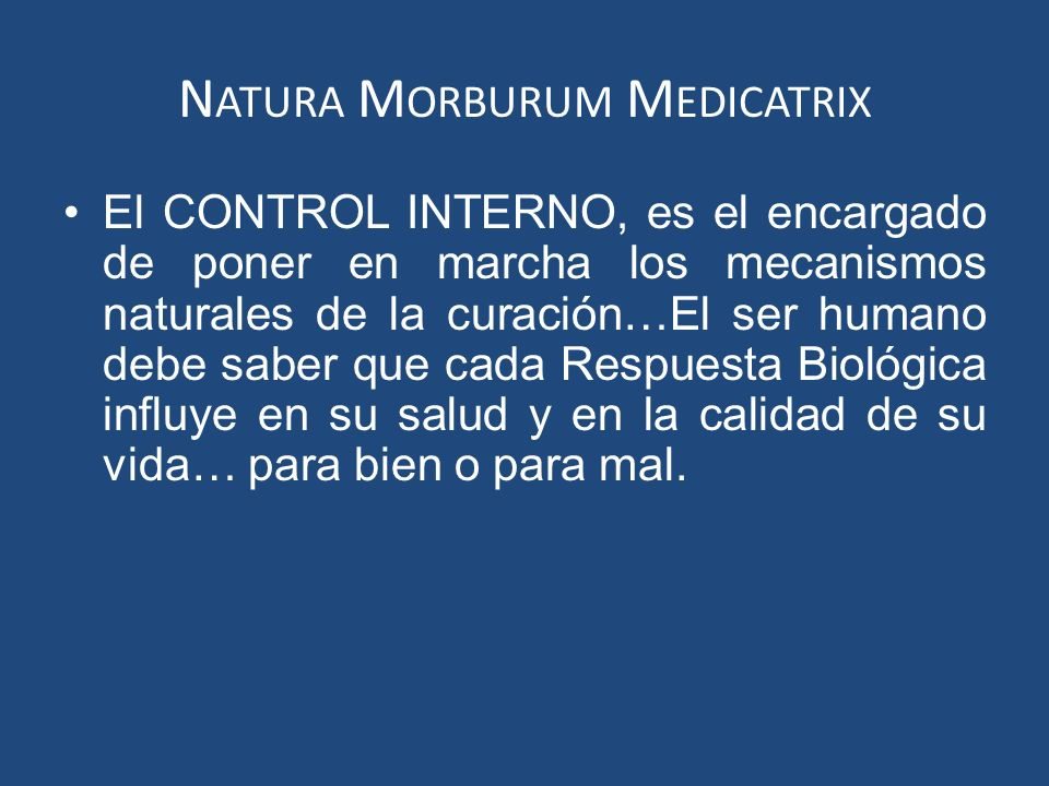 Natura Morburum Medicatrix