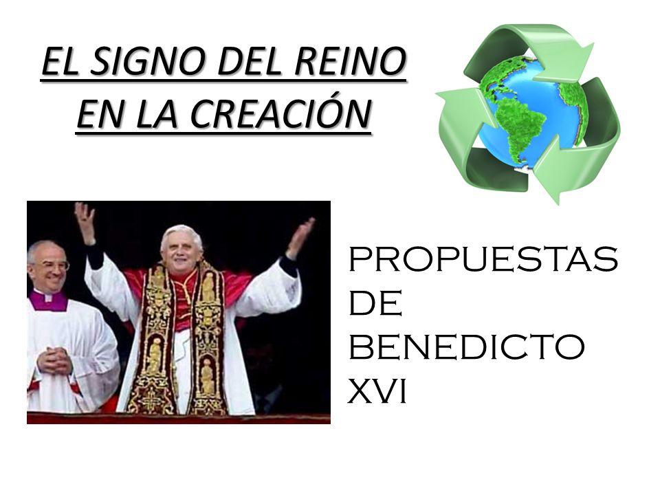 EL SIGNO DEL REINO EN LA CREACIÓN