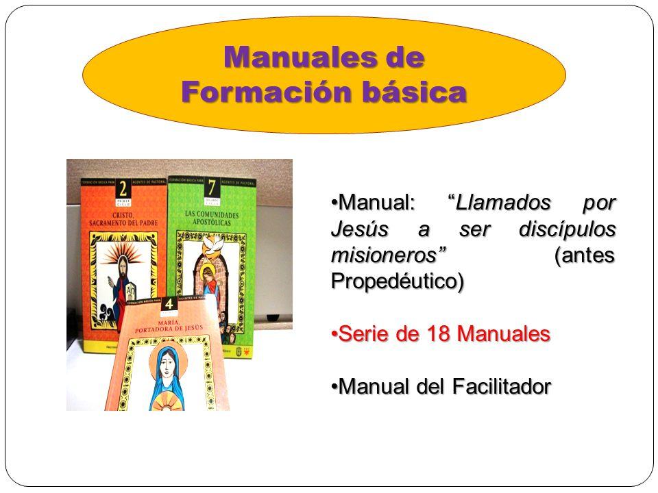 Manuales de Formación básica