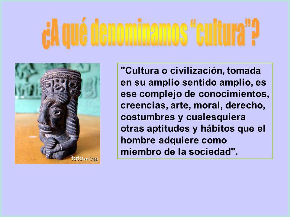 ¿A qué denominamos cultura
