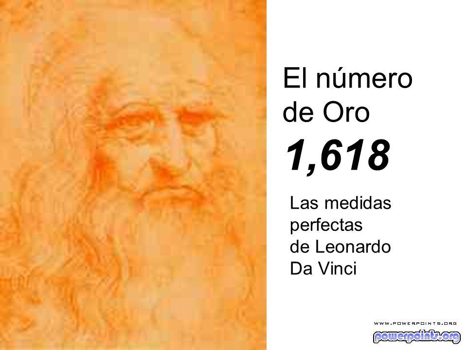 Las medidas perfectas de Leonardo Da Vinci