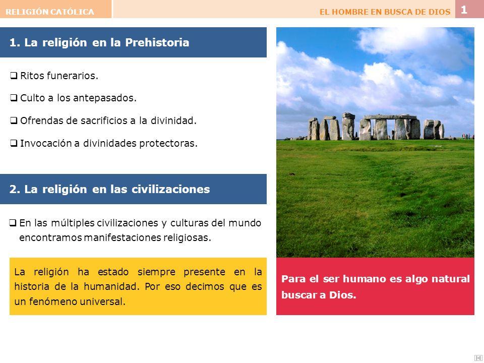 1. La religión en la Prehistoria