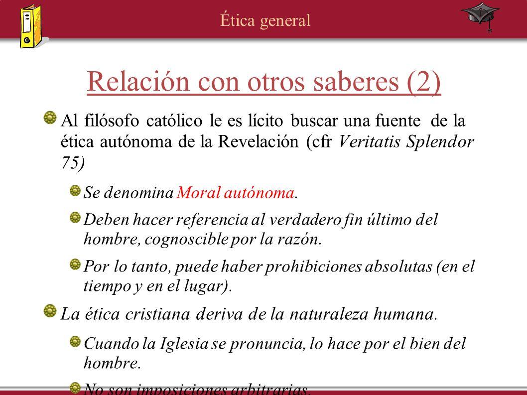 Relación con otros saberes (2)
